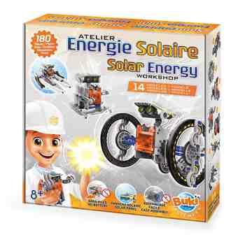 cadeau garcon 10 ans - Buki - 7503 - Energie solaire 14 En 1