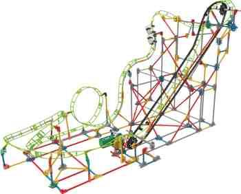 cadeau garcon 10 ans - K 'nex 33485 – Thrill Rides, double Doom Roller Coaster
