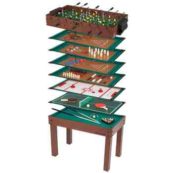 cadeau garcon 10 ans - Ultrasport Table de jeux 12 en 1