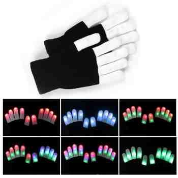 cadeau garcon 10 ans - gants lumineux led
