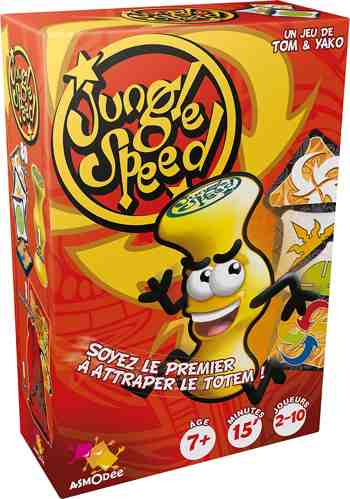 cadeau garcon 11 ans - Asmodee - JS04FR - Jungle Speed Gms
