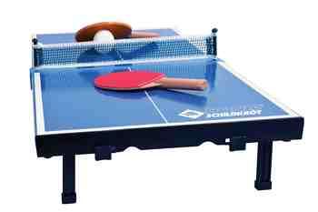 cadeau garcon 11 ans - Donic Schildkröt 2287916 Set de Tennis de Table Mini Mixte Enfant