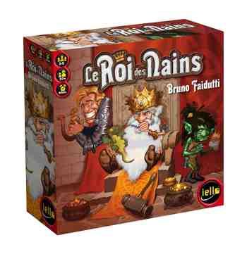 cadeau garcon 11 ans - Iello - 51022 - Jeu De Cartes - Le Roi des Nains