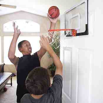 cadeau garcon 11 ans - Pro Mini Hoop - Professioneller Mini Basketballkorb, multicolore