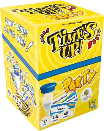 cadeau garcon 12 ans - Asmodee - TUPA01 - Time's Up - Party