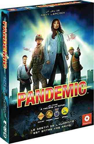 cadeau garcon 13 ans - Asmodee - PAN01N - Jeu de Strategie - Pandemie