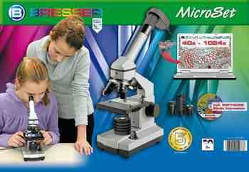 cadeau garcon 13 ans - Bresser junior 40x-1024x Microscope
