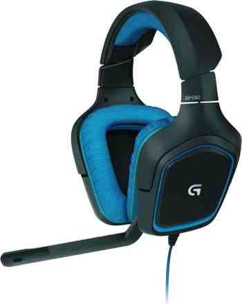 cadeau garcon 13 ans - Logitech G430 Casque Gaming pour PC, PS4, Xbox et Switch