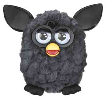 cadeau garcon 2 ans - Furby - A31731010 - Peluche et Animal Interactif - Black Magic - Noir