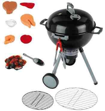 cadeau garcon 3 ans - Klein - 9401 - Jeu d'imitation - Barbecue Weber One Touch Premium