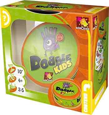 cadeau garcon 4 ans - Asmodee - DOKI01 - Jeu enfants - Dobble Kids