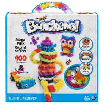 cadeau garcon 4 ans - Bunchems - 6026103 - Loisirs Créatifs - Mega Pack - Modèle Aléatoire