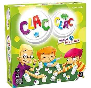 cadeau garcon 4 ans - Gigamic - AMCLA - Jeu de Société - Clac Clac