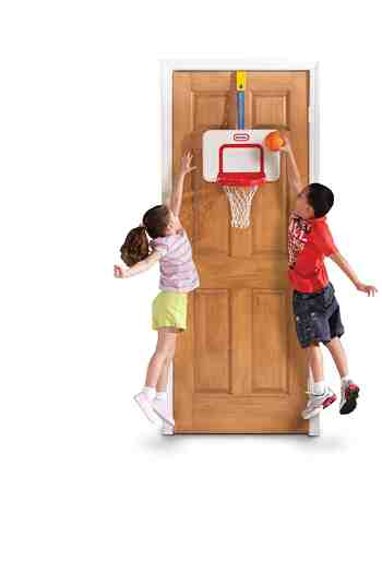 cadeau garcon 4 ans - Little Tikes - 622243m - Jeu De Balle - Attach 'n Play - Basketball