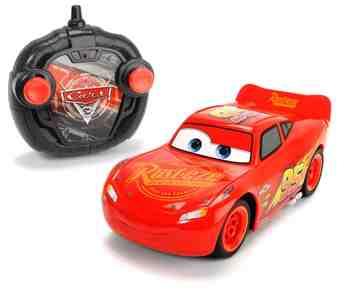 cadeau garcon 4 ans - Majorette - 203084003 - Cars 3 - Voiture Radio Commandée - Turbo Racer Lightning Flash McQueen