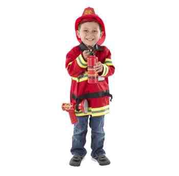 cadeau garcon 4 ans - Melissa & Doug - 14834 - Déguisement - Costume de chef des pompiers