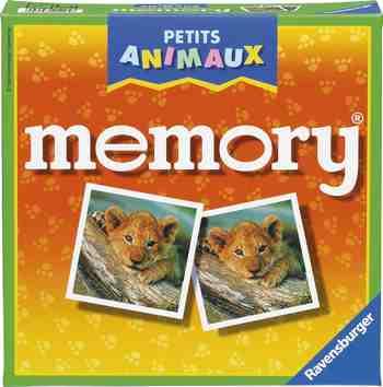 cadeau garcon 4 ans - Ravensburger - 21295 - Jeu éducatif premier âge - Memory Petits Animaux