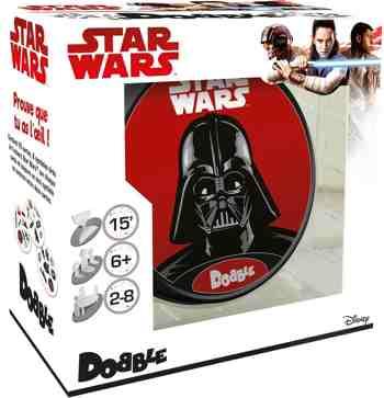 cadeau garcon 5 ans - Asmodee - DOBSW02FR - Dobble Star Wars Edition 2017