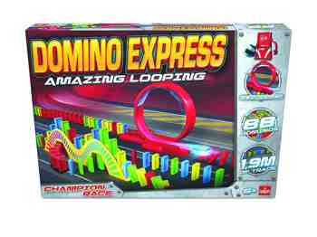 cadeau garcon 7 ans - Goliath - 81007.012 - Domino Express Amazing Looping