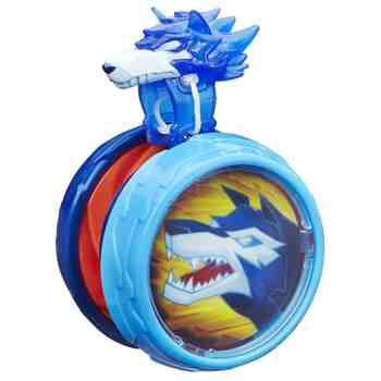 cadeau garcon 7 ans - Hasbro - B6542 - Blazing Team - Combat Rotatif - Loup