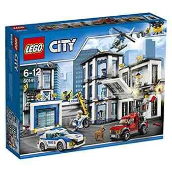 cadeau garcon 7 ans - LEGO - 60141 - City - Jeu de construction - Le Commissariat de Police