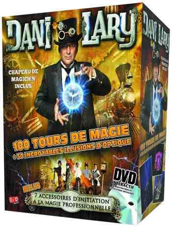 cadeau garcon 7 ans - Megagic - Dan-p - Kit De Magie - Coffret Pro - Dani Lary