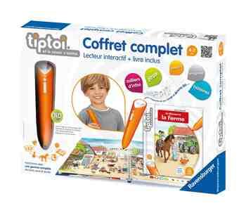 cadeau garcon 7 ans - Ravensburger - Tiptoi - Jeu Educatif Électronique - Tiptoi Coffret Complet Ferme