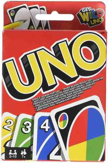 cadeau garcon 7 ans - Uno - W2087 - Cartes - Jeu de Société