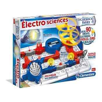 cadeau garcon 8 ans - Clementoni - 52112-Électro Sciences-Jeu scientifique