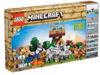cadeau garcon 8 ans - LEGO - 21135 - Minecraft - Jeu de Construction - La Boîte de Construction 2.0