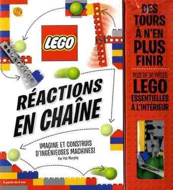 cadeau garcon 8 ans - LEGO, Réactions en chaîne