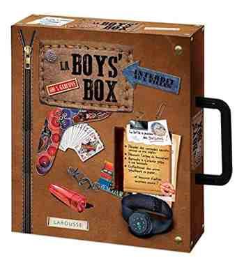 cadeau garcon 8 ans - La boys' box - La boîte à passions des garçons