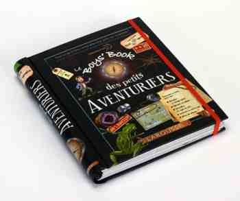 cadeau garcon 8 ans - Le Boys' book des petits aventuriers