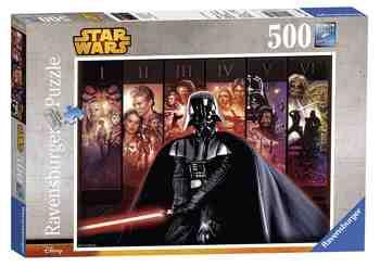 cadeau garcon 8 ans - Ravensburger - 14665 - Puzzle Classique - Univers Star Wars - 500 Pièces