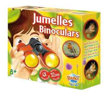 cadeau garcon 9 ans - Buki - BN009 - Jumelles - 4x32 mm