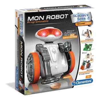 cadeau garcon 9 ans - Clementoni - 52113-Mon robot-Jeu scientifique