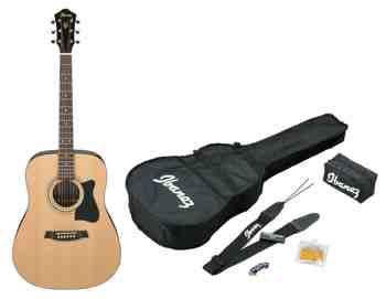 cadeau garcon 9 ans - Ibanez V50NJP-NT Jam Pack Guitare acoustique