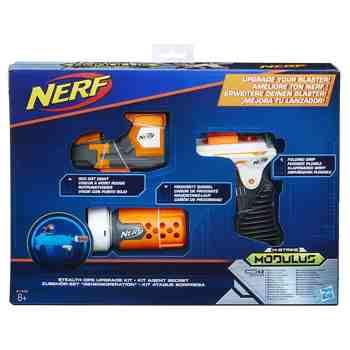 cadeau garcon 9 ans - Nerf - B1535EU40 - Elite Modulus - Jeu de Tir - Kit Agent Secret