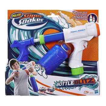 cadeau garcon 9 ans - Nerf - B4445EU41 - Soa Bottle Blitz