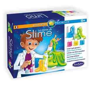 cadeau garcon 9 ans - Sentosphère - 2830 - Kit Scientifique - la Chimie du Slime