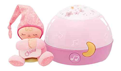 veilleuse musicale Chicco Lampe Magic'Projection First Dreams