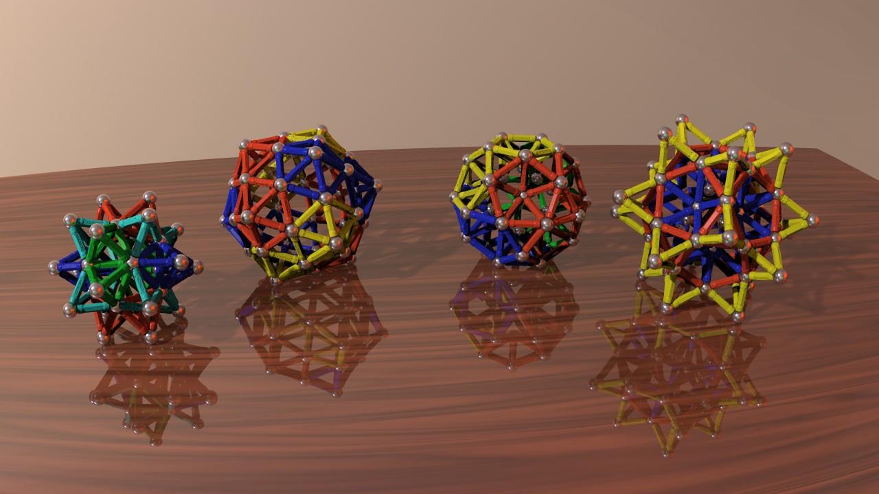 jeu de construction magnetique geomag