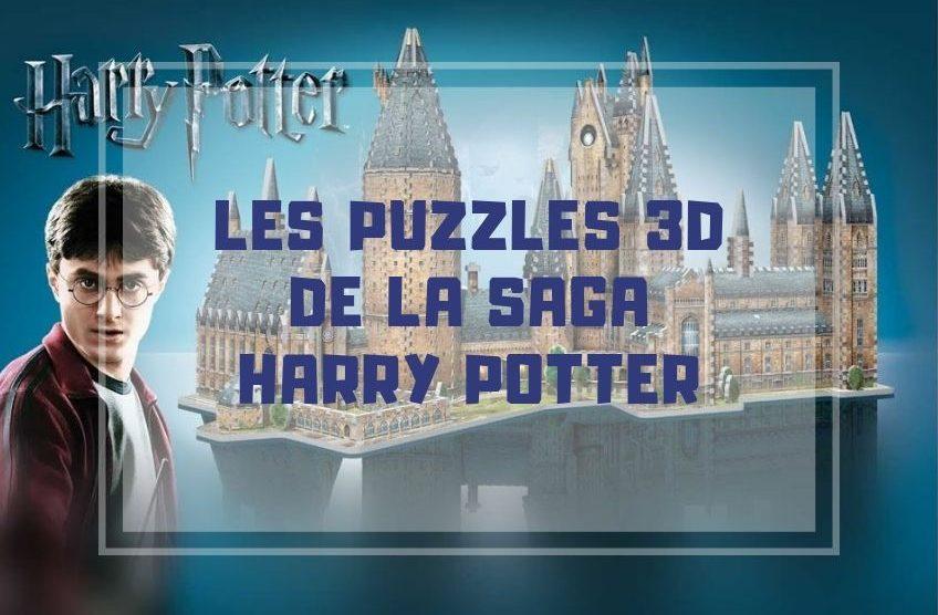 puzzle 3d harry potter toute la gamme