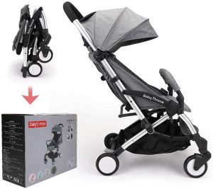 poussette canne ultra compacte Babythrone